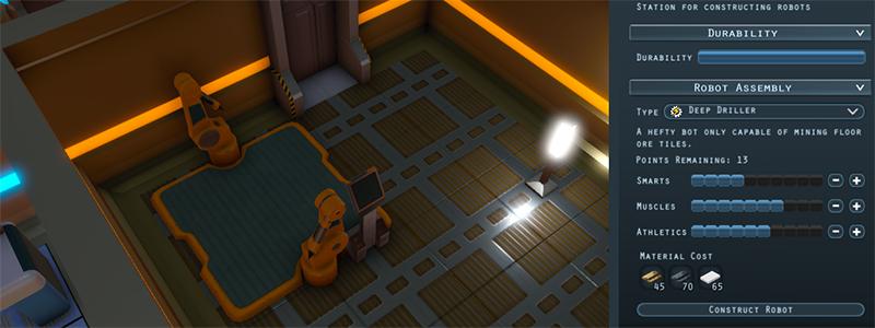 Robot Construction Header